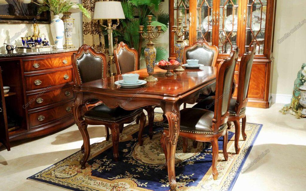 Как выбрать стулья и столы в классическом стиле?