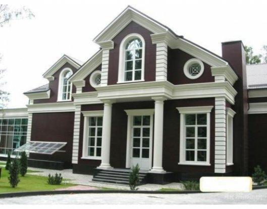 Декоры для фасадов дома