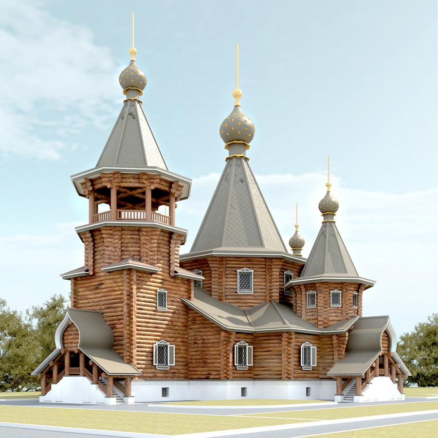 История строительства храмов на территории Алтая