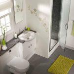 Экономия свободного пространства ванной комнаты: душ вместо ванны
