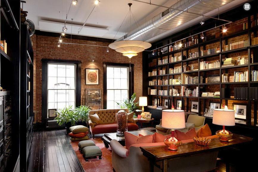 Библиотеки в частном доме