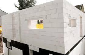 Преимущества использования газобетона в строительстве