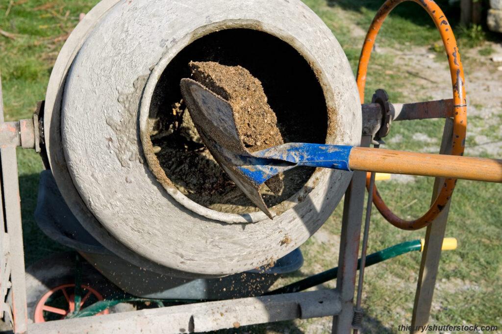 Приготовление раствора и бетона