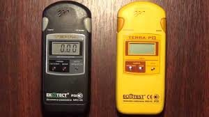 Современные приборы для измерения уровня радиации