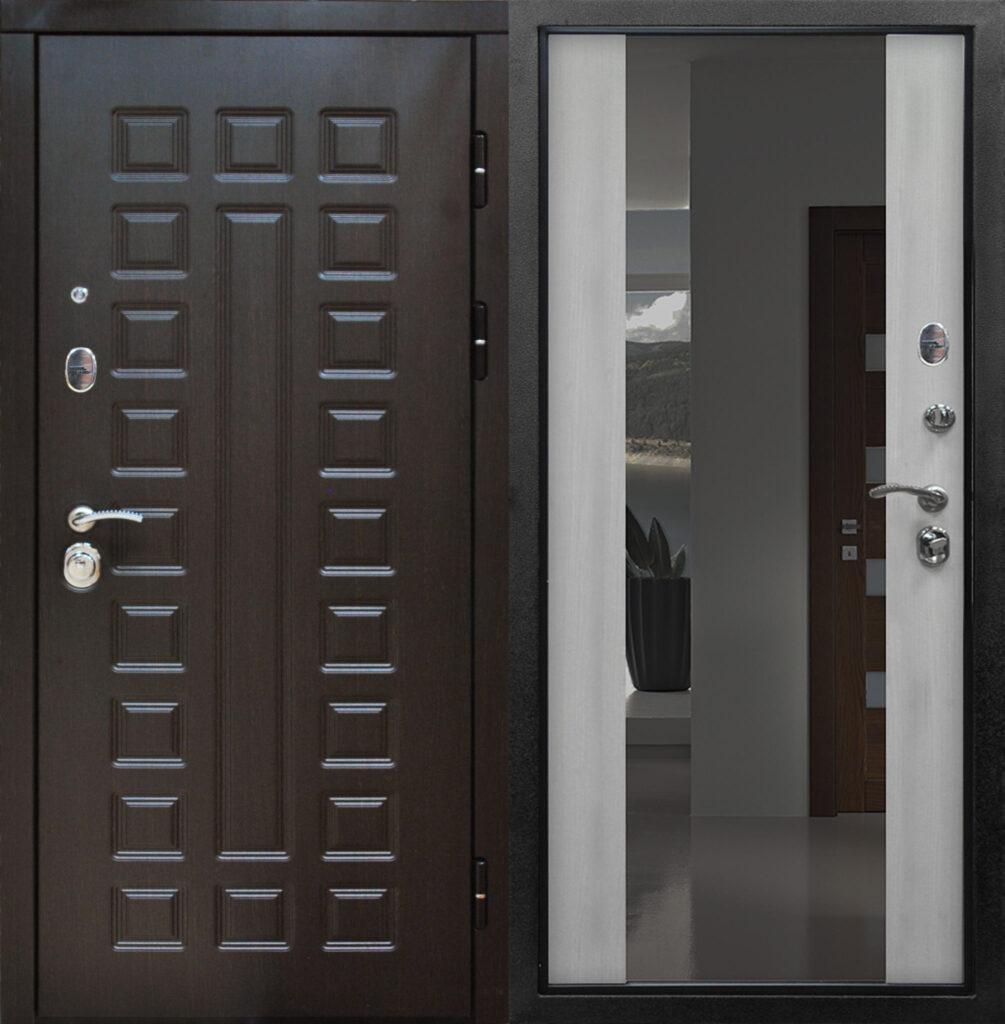 Необычные парадные двери